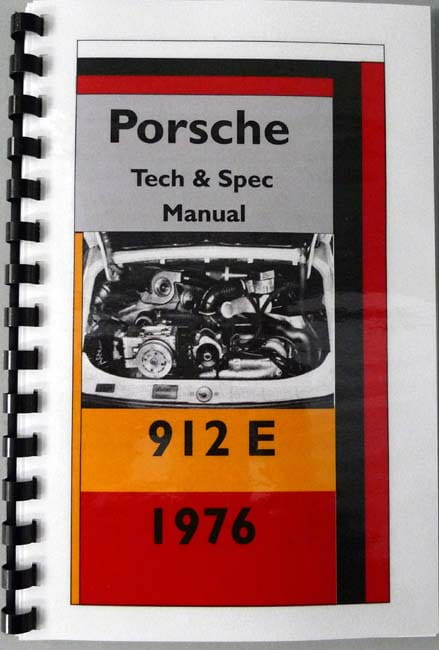 porsche e books technical documentation page