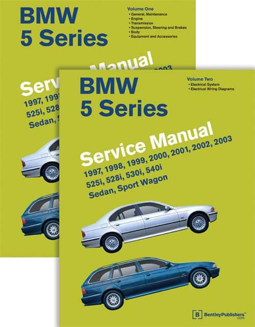 BMW       E39       5   Series    Bentley    Service Manual 19972002