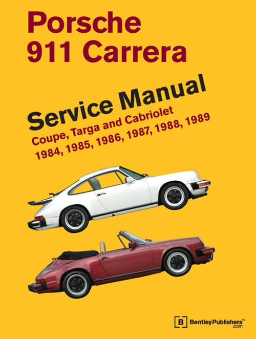 porsche 911 carrera service manual by bentley publishing. Black Bedroom Furniture Sets. Home Design Ideas