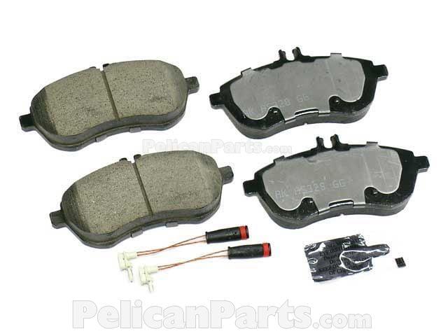 Mercedes-Benz Brake Pad Set - 0074205720 - Akebono Euro EUR 1340 007 420 57  20