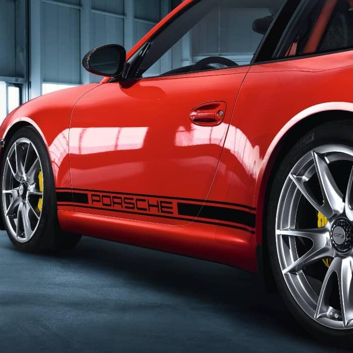 """""""Porsche"""" Body Decal For Door/Side Panel 99704485017"""