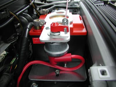 Porsche Rennline Battery Mount Kit Renel3034si For Cayman