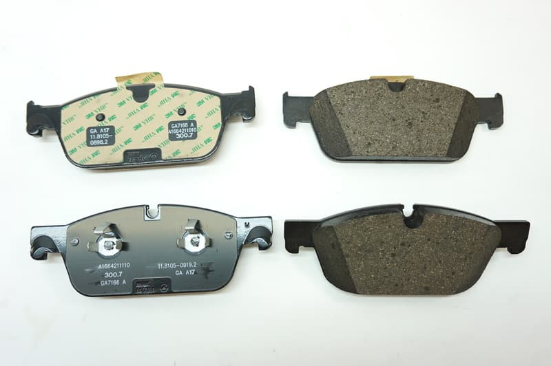 Mercedes-Benz Brake Pad Set - 0074207920 - Genuine Mercedes 007 420 79 20