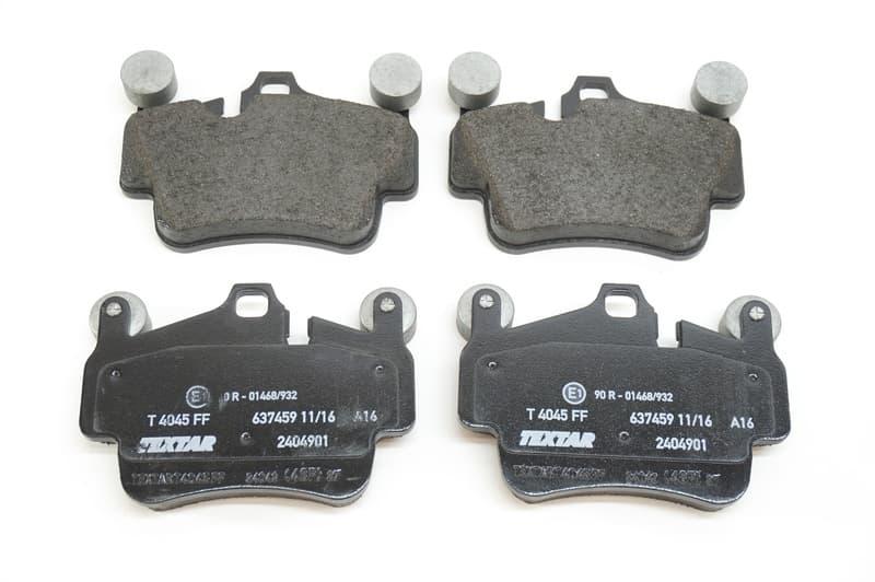 Textar 2404901 Brake Pad Set disc brake
