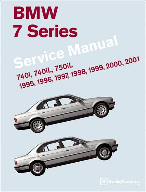 Bmw 740i 740il 750il repair manual bentley bm8000701 | ebay.