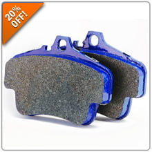 20% OFF Cool Carbon Brake Pads for Porsche and BMW!
